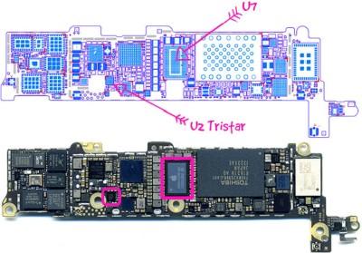 замена чипа айфон