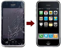 замена стекла на айфон 6s в спб